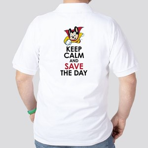 Keep Calm Mighty Mouse Golf Shirt