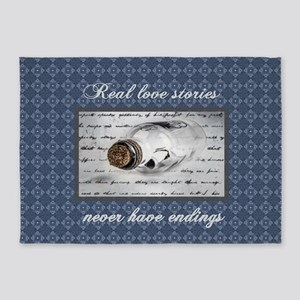 Real Love Stories 5'x7'Area Rug