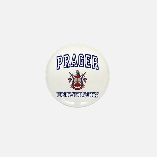 PRAGER University Mini Button