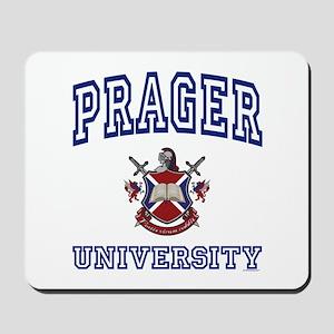 PRAGER University Mousepad