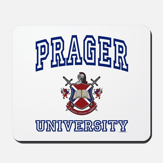 PRAGER University Mousepad