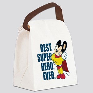 Best. Super Hero. Ever. Canvas Lunch Bag