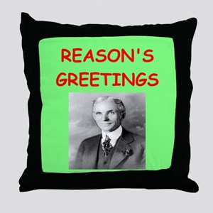henry ford Throw Pillow