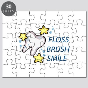 Floss Brush Smile Puzzle