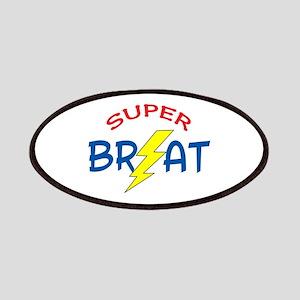 SUPER BRAT Patches