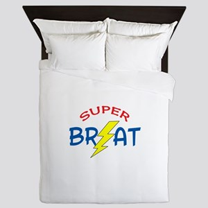 SUPER BRAT Queen Duvet