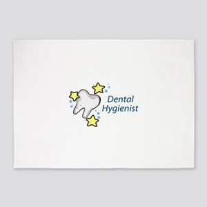 Dental Hygienist 5'x7'Area Rug