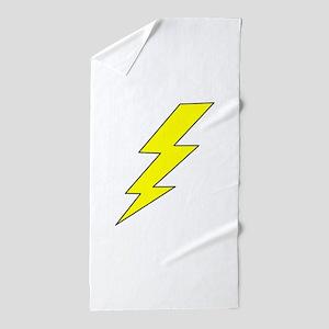 LIGHTENING BOLT Beach Towel