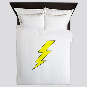 LIGHTENING BOLT Queen Duvet