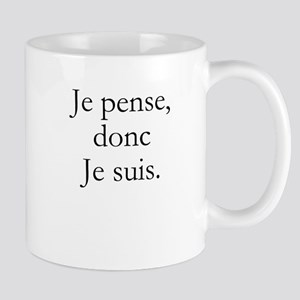 je ponse, donc je suis. Mugs