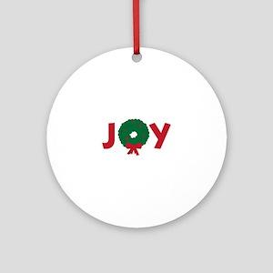 Joy Ornament (Round)