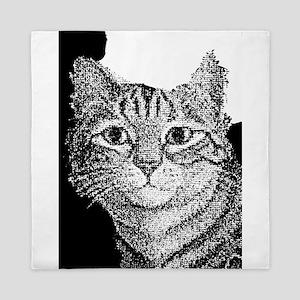 Dotted Cat Queen Duvet