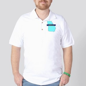 Golf Shirt for a True Blue Georgia Liberal