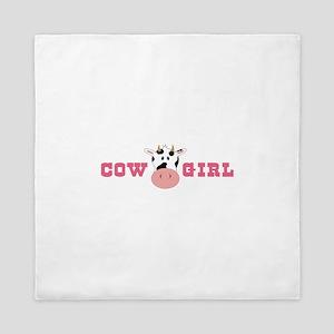 Cow Girl Queen Duvet