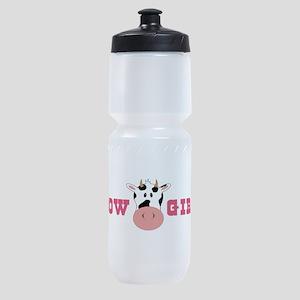 Cow Girl Sports Bottle