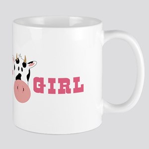 Cow Girl Mugs