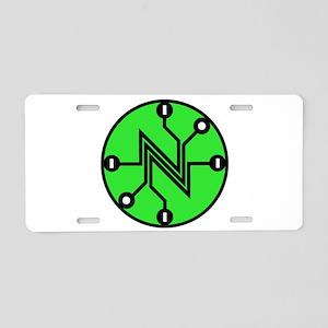 Net Neutrality Aluminum License Plate