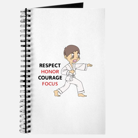 COURAGE HONOR RESPECT Journal