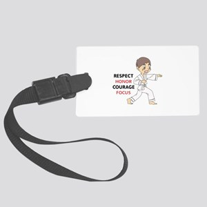 COURAGE HONOR RESPECT Luggage Tag