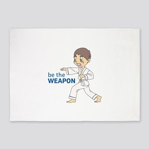 BE THE WEAPON 5'x7'Area Rug