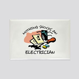 NOTHING SHOCKS ELECTRICIAN Magnets