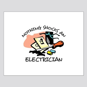 NOTHING SHOCKS ELECTRICIAN Posters