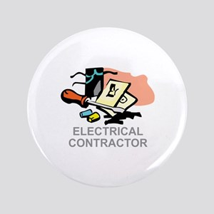 """ELECTRICAL CONTRACTOR 3.5"""" Button"""