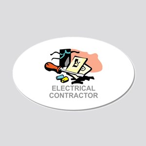 ELECTRICAL CONTRACTOR Wall Decal
