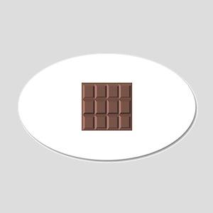 CHOCOLATE BAR Wall Decal