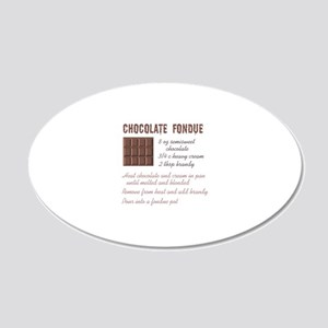 CHOCOLATE FONDUE Wall Decal