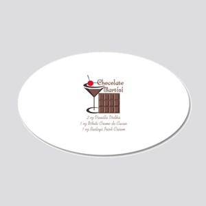 CHOCOLATE MARTINI Wall Decal