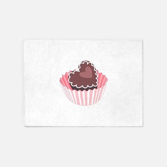 CHOCOLATE CANDY 5'x7'Area Rug