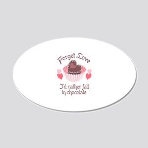 FORGET LOVE Wall Decal