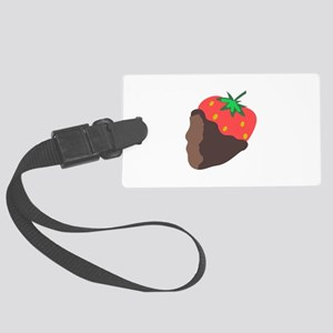 CHOCOLATE DIPPED STRAWBERRY Luggage Tag