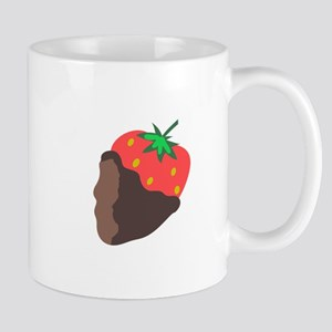 CHOCOLATE DIPPED STRAWBERRY Mugs