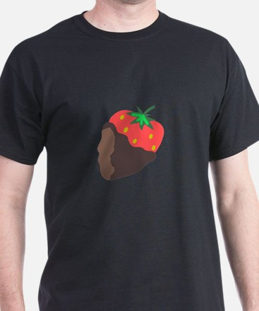 CHOCOLATE DIPPED STRAWBERRY T-Shirt