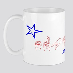 ASL Superhero Mug