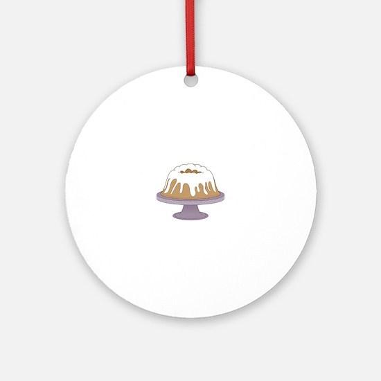 Bundt Cake Ornament (Round)