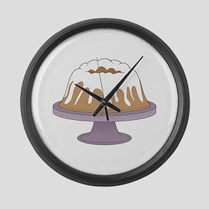 Bundt Cake Large Wall Clock