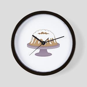 Bundt Cake Wall Clock