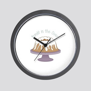 Bundt In The Oven! Wall Clock