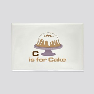 C Is For Cake Magnets