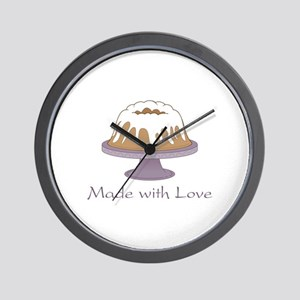Made With Love Wall Clock