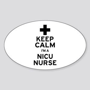 Keep Calm NICU Nurse Sticker