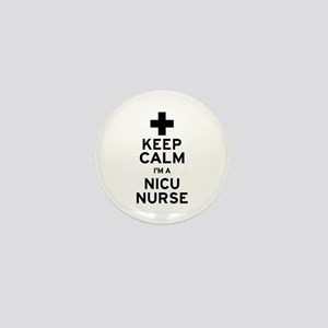 Keep Calm NICU Nurse Mini Button