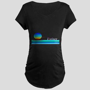 Esther Maternity Dark T-Shirt