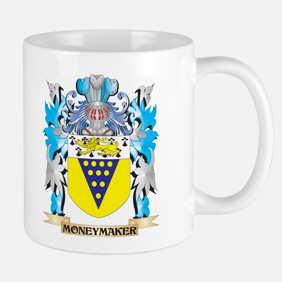 Moneymaker Coat of Arms - Family Crest Mugs