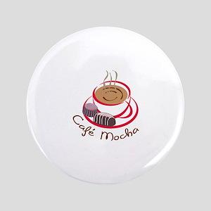 """CAFE MOCHA 3.5"""" Button"""