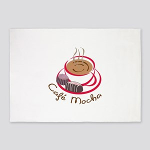 CAFE MOCHA 5'x7'Area Rug