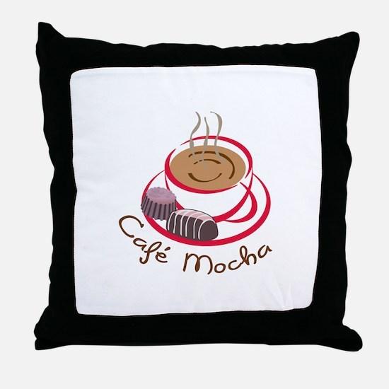 CAFE MOCHA Throw Pillow